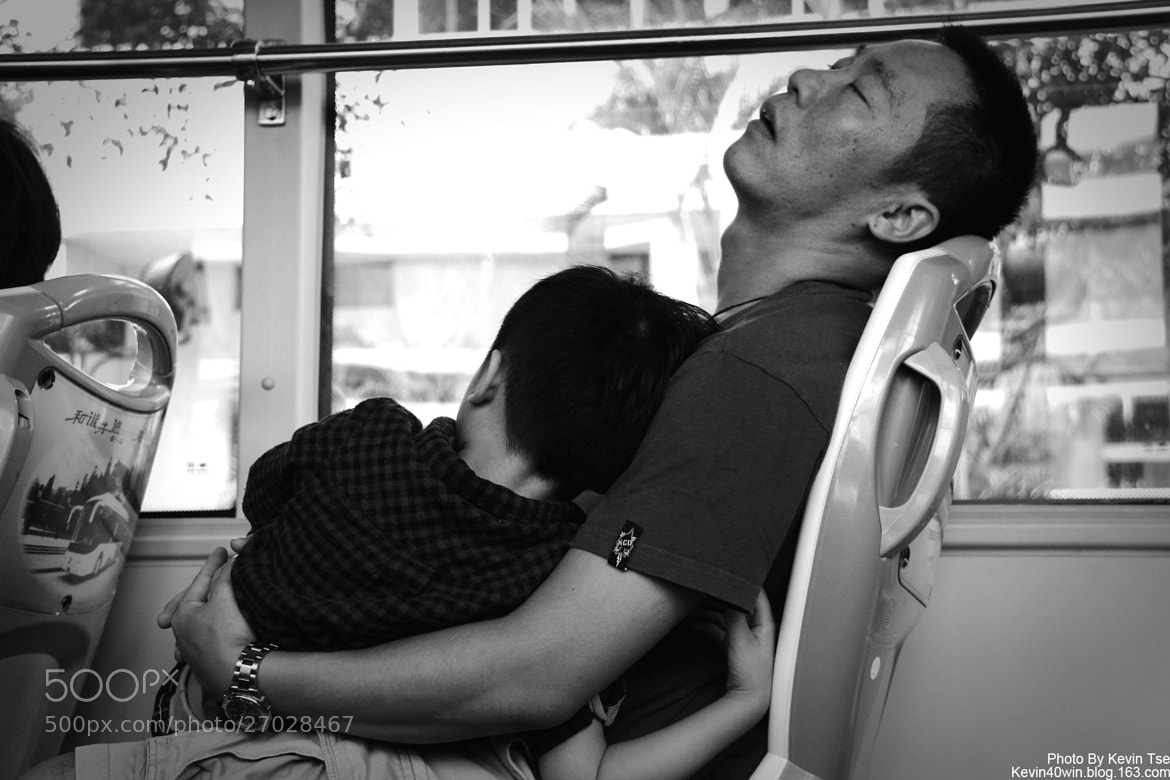 Photograph Sleep father and son.. by Kevin Tse on 500px