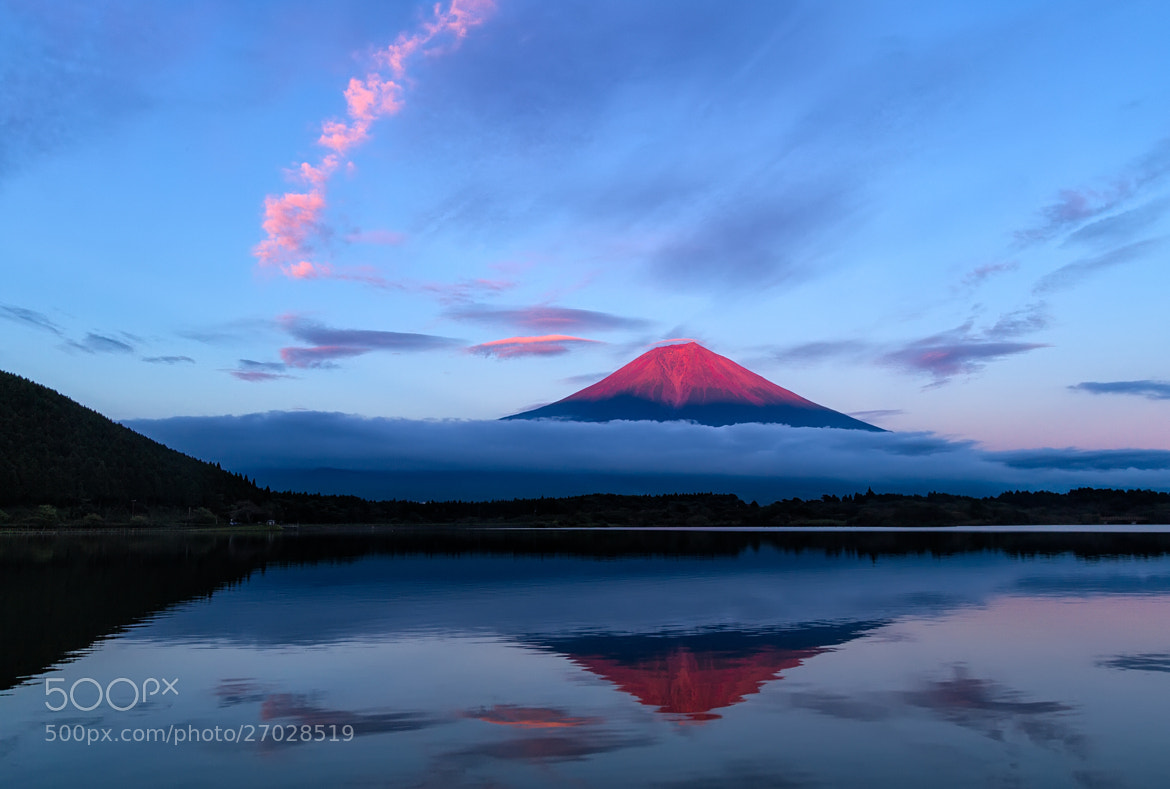 Photograph The Red Fuji by Agustin Rafael Reyes on 500px