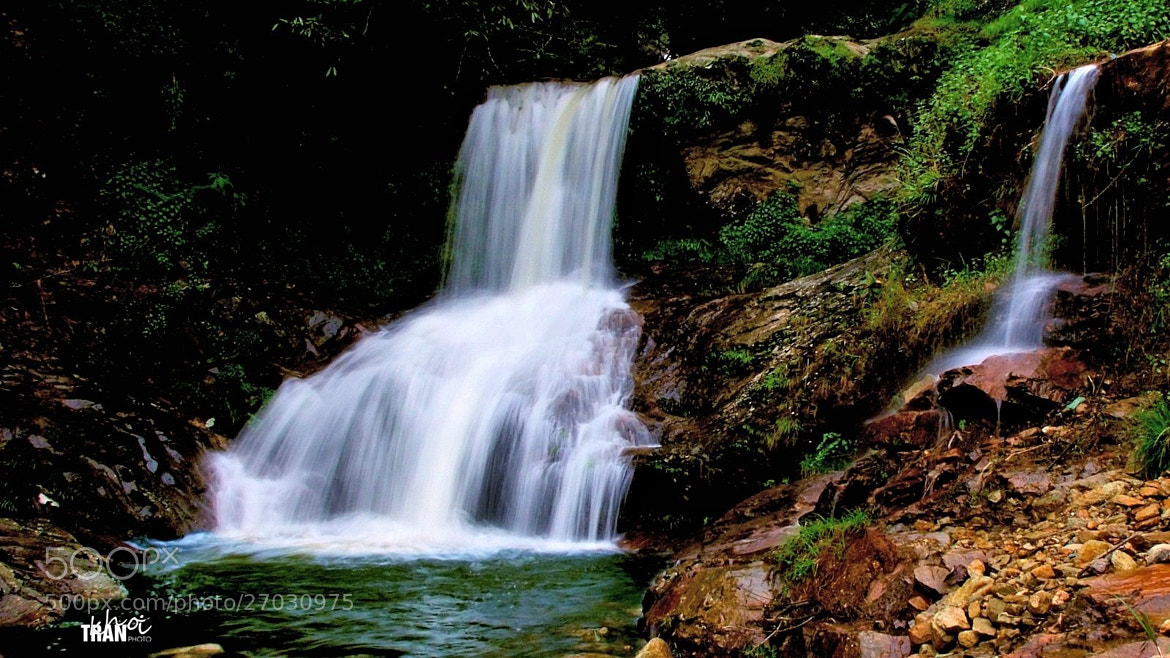 Photograph Silver Waterfalls by Khoi Tran Duc on 500px