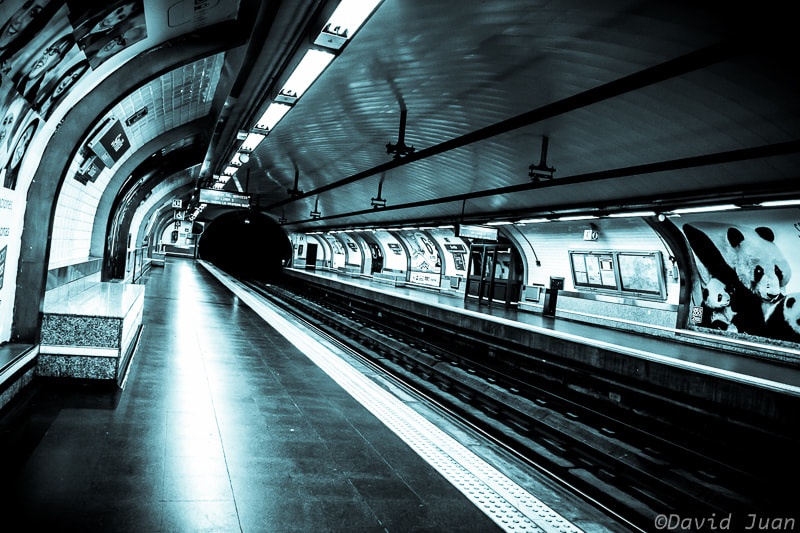 Photograph Underground by David Juan on 500px