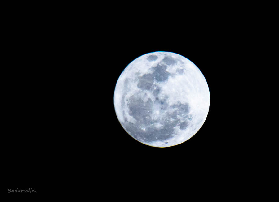 Photograph The Moon by Badaru Din on 500px