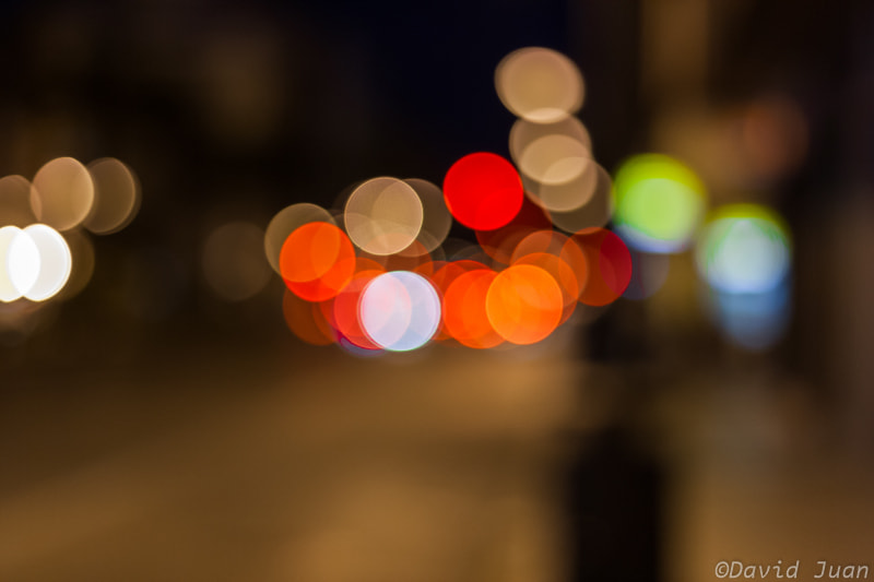 Photograph The night bokeh by David Juan on 500px