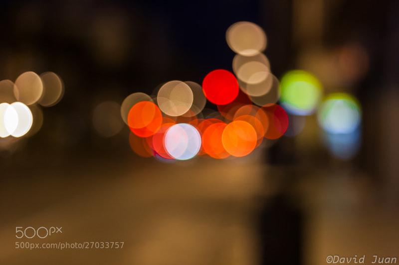 Photograph The night bokeh by David Juan on 500px
