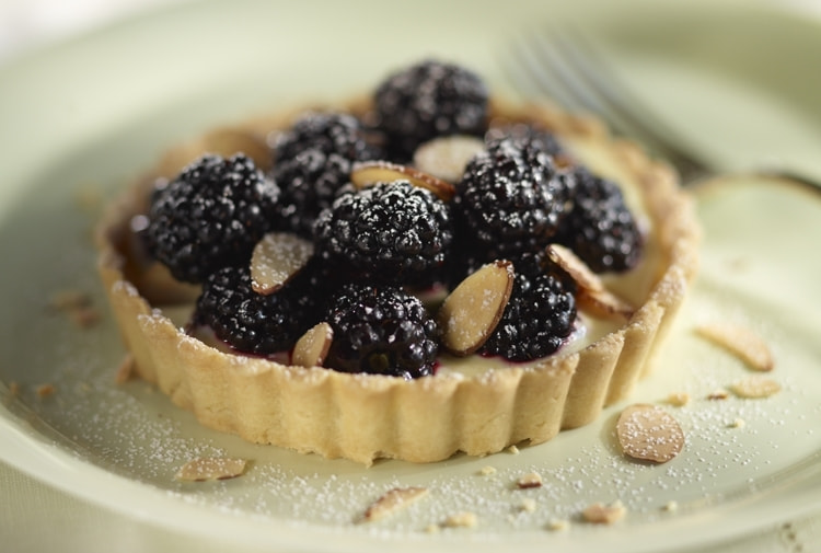 Photograph Driscoll's® Blackberry Almond Tart by Driscoll's Berries on 500px