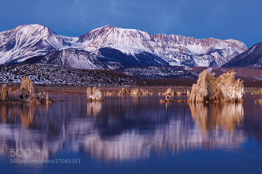 Photograph Mono lake and Sierra Nevada Mountains by Sam Dobson on 500px