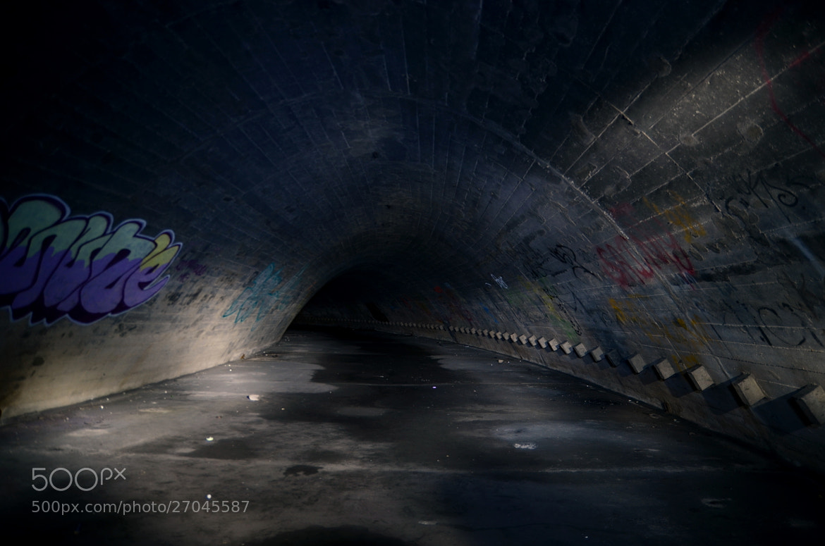 Photograph Tunnel Into Darkness by MalekPhotography on 500px