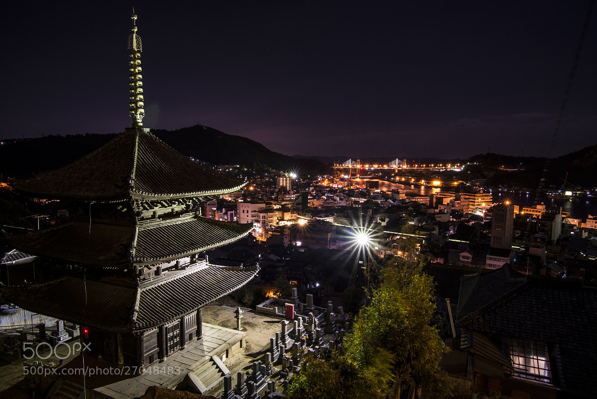 Photograph Temple at Night by hugh dornan on 500px