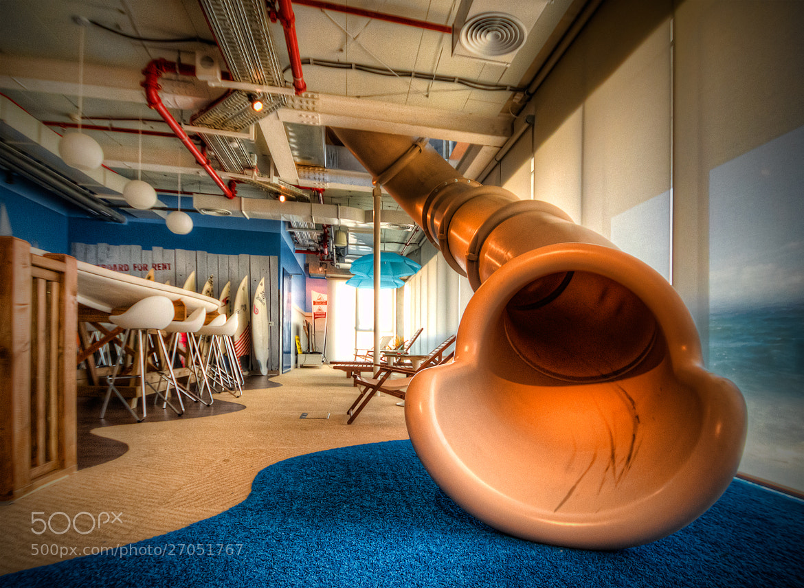 Photograph The Google Slide by Simon Gelfand on 500px