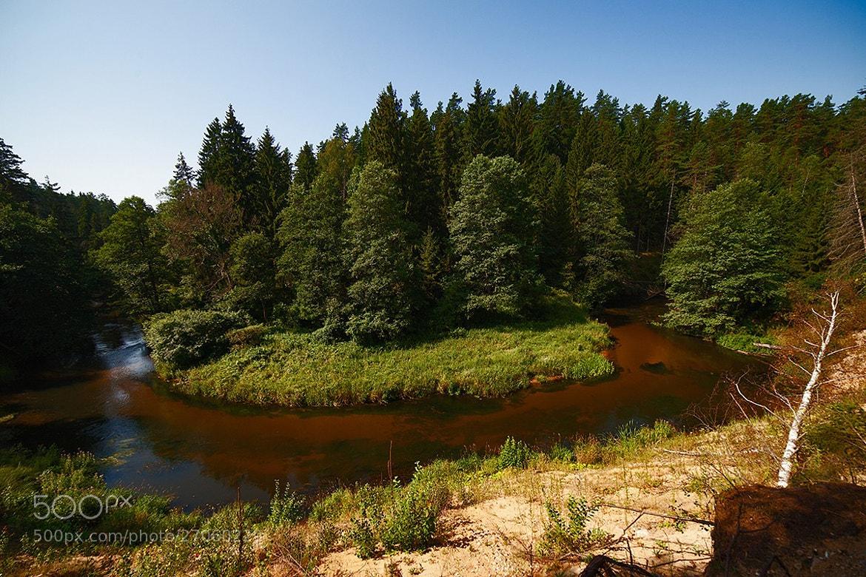 Photograph Golden river flows... by Vytautas Mikalauskas on 500px
