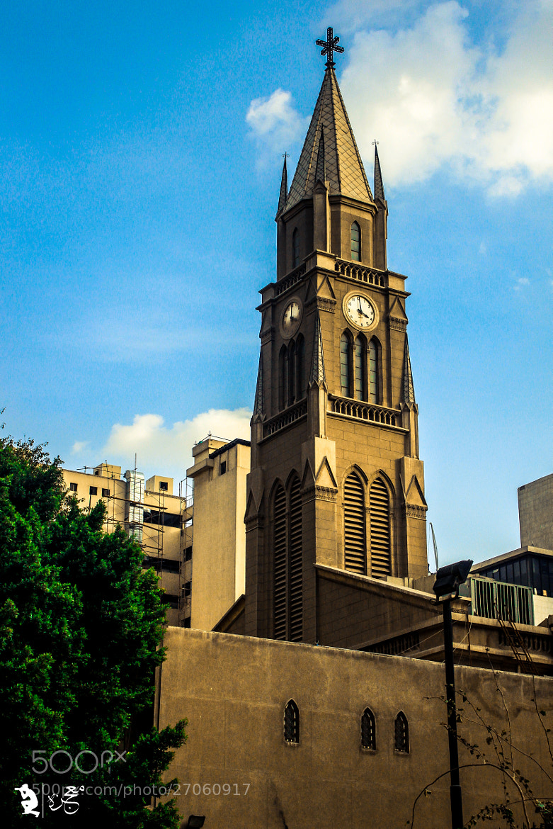 Photograph Church at Tahrir sq. Eg.  by Ahmed Nasser on 500px