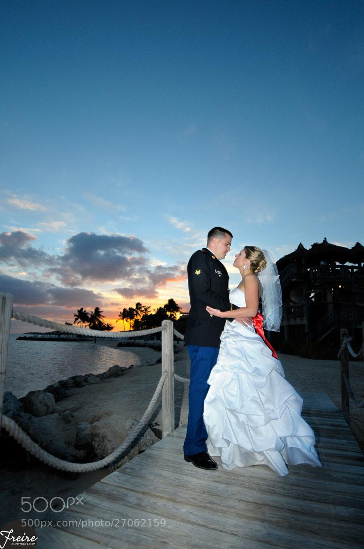 Photograph Matt and Alicia Islamorada Wedding by Jan Freire on 500px