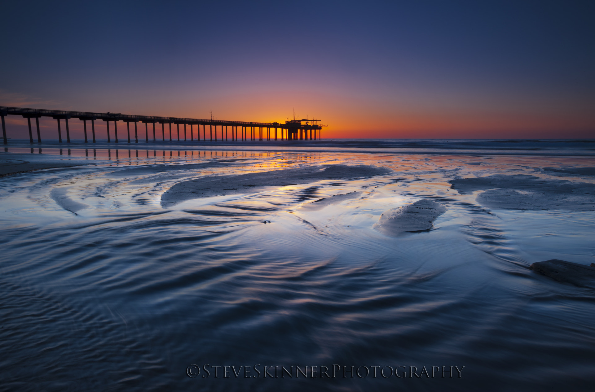 Photograph Emphasis Foreground - Scripps Pier by Steve Skinner on 500px