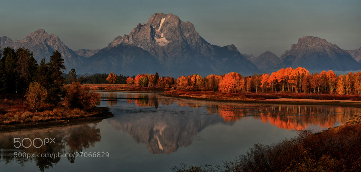 Photograph Light Show at Oxbow by Jeff Clow on 500px