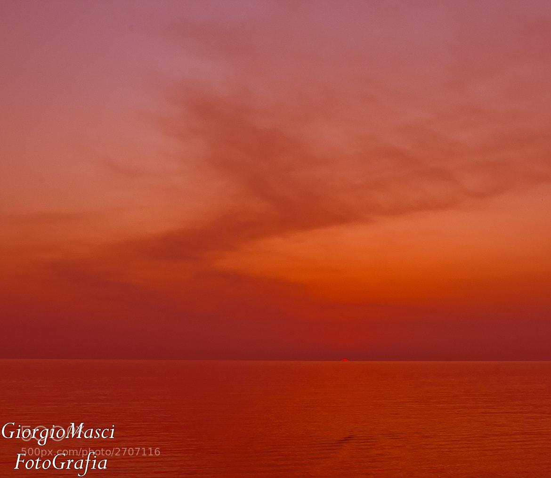 Photograph Fine del giorno, end of the day by Giorgio  Masci on 500px