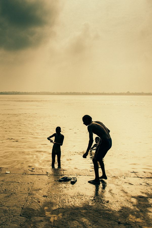 Photograph Low tide at the Ganges by Brian Donegan on 500px