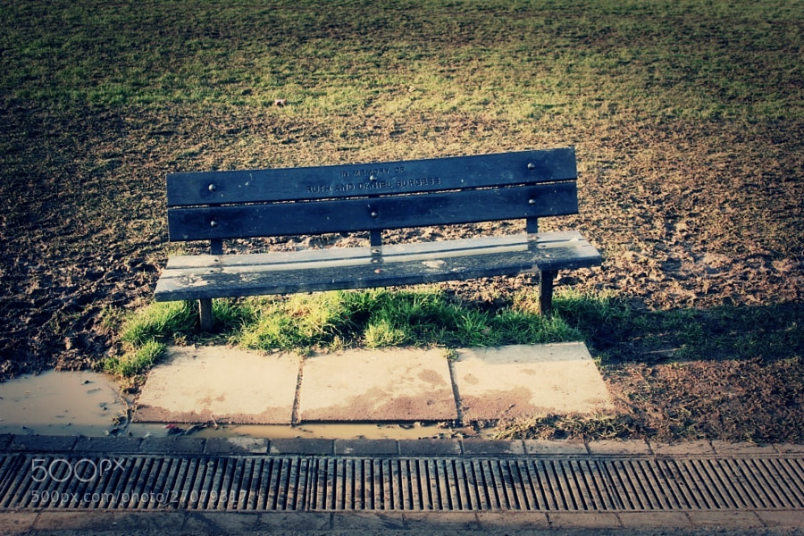 Bench by Enako (Enako)) on 500px.com