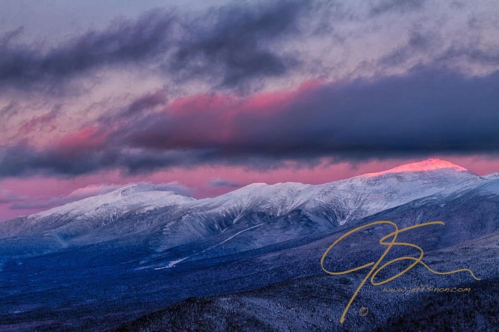 Photograph Mount Washington Summit In The Alpenglow by Jeff Sinon on 500px