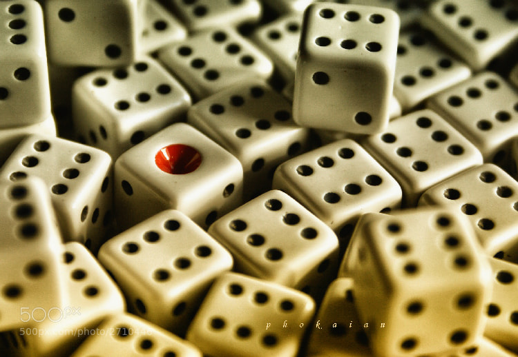 Photograph Dices by Özgür Özdemir on 500px