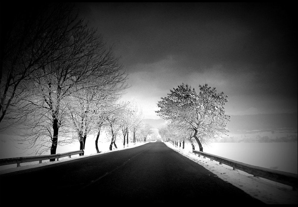 Photograph winter roads by Alex Paterau on 500px