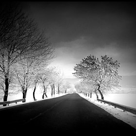 winter roads by Alex Paterau (alecul)) on 500px.com