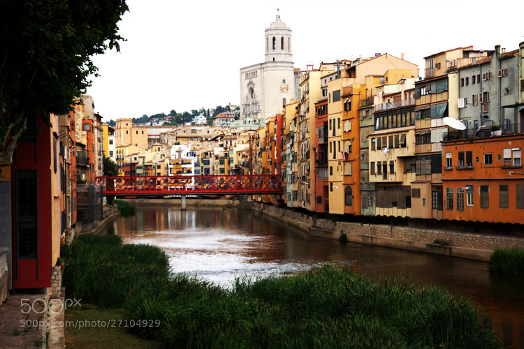 Photograph Downtown Girona Spain by Andew Osterberg on 500px