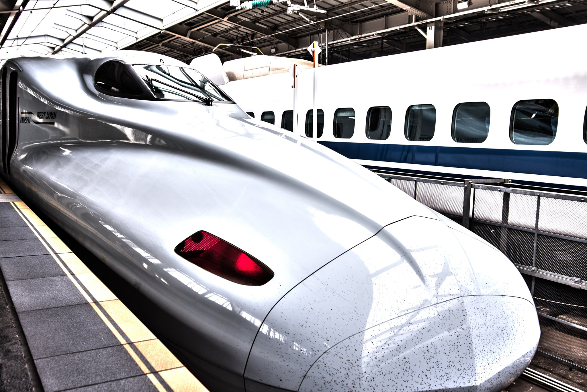 Photograph Shinkansen HDR by hugh dornan on 500px