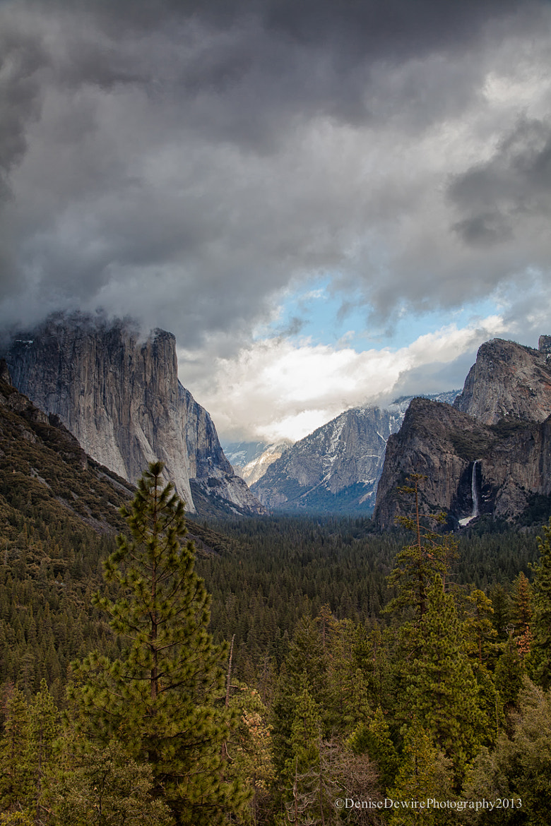 Photograph Clouds Over Tunnel View by Denise Dewire on 500px