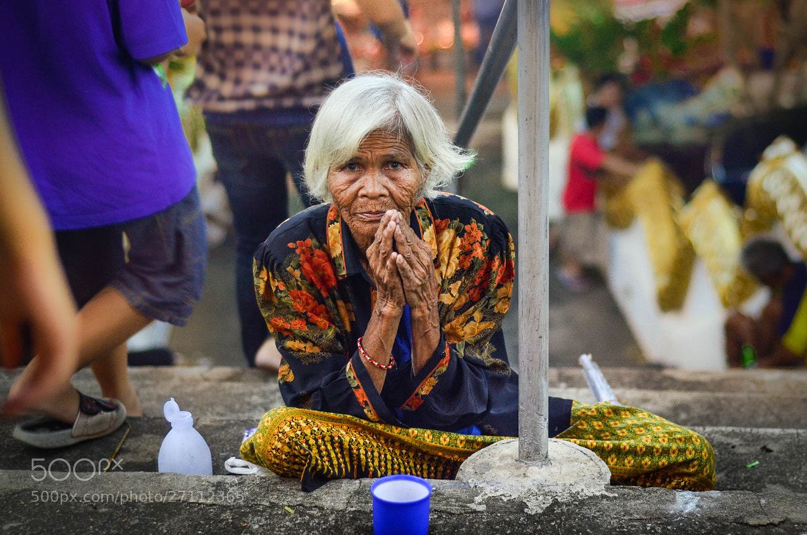 Photograph 70-year-old by warut ngamwong on 500px