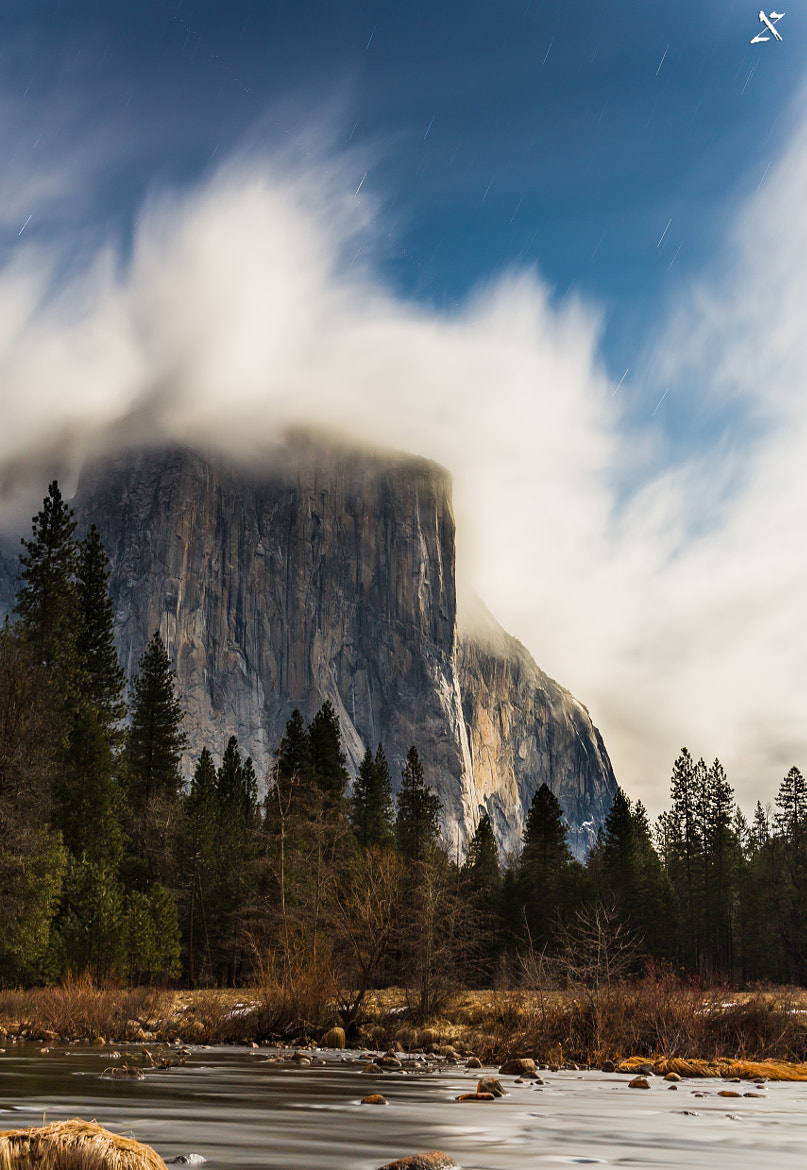 Photograph Moonlit El Capitan by Mahendiran Mohan on 500px