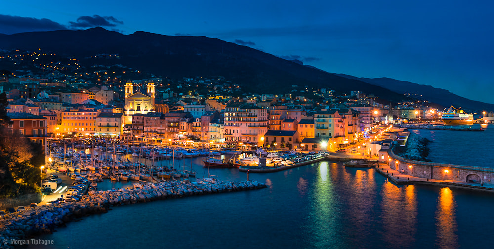 Photograph Bastia's lights by Morgan Tiphagne on 500px