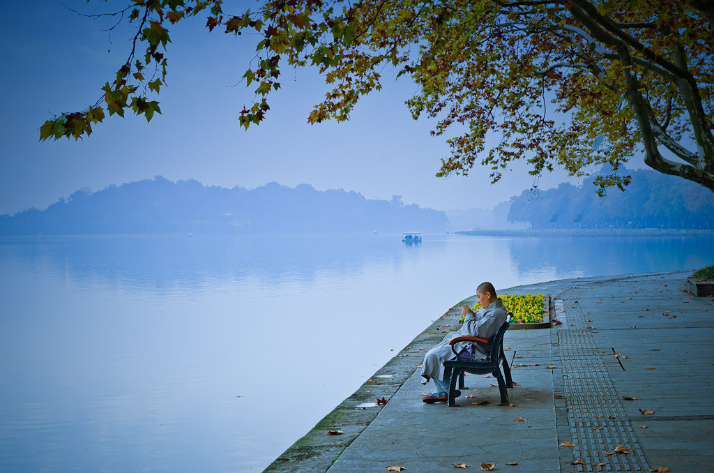 Photograph West Lake - Monk by Wilson Li on 500px