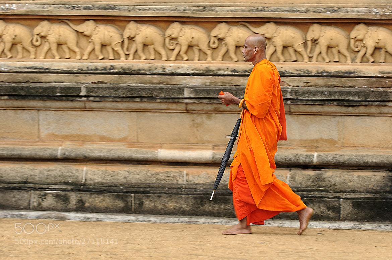 Photograph Buddhist monk by Simák Gergő on 500px