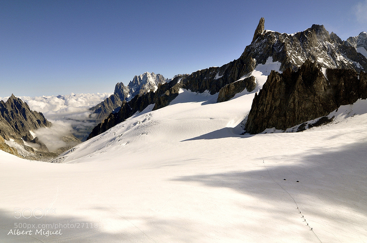 Photograph Dent du Géant by Albert Miguel on 500px