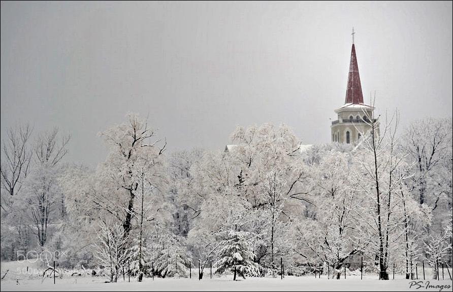Photograph Snowy Christ  by prince sharma on 500px