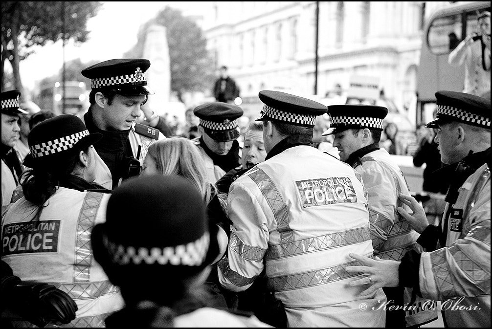 Photograph Police Scrum by  Kevin  Obosi   on 500px