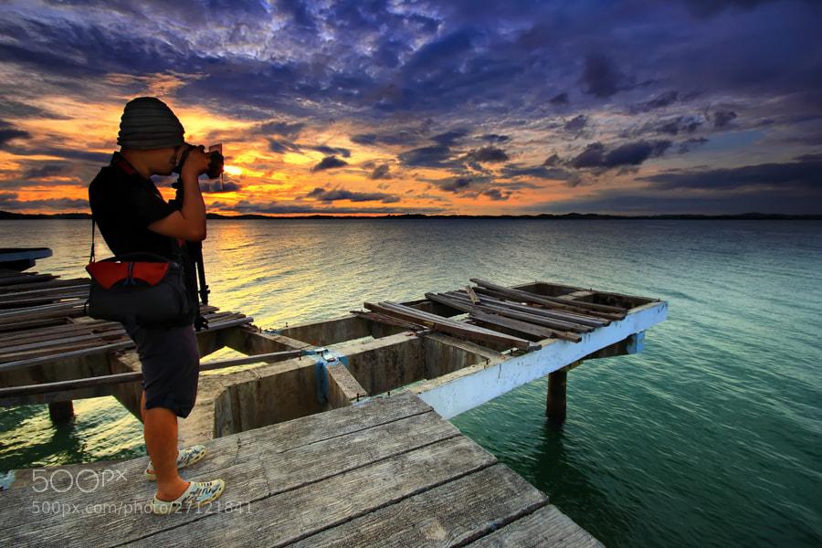 Photograph Capturing Sunrise by Danis Suma Wijaya on 500px