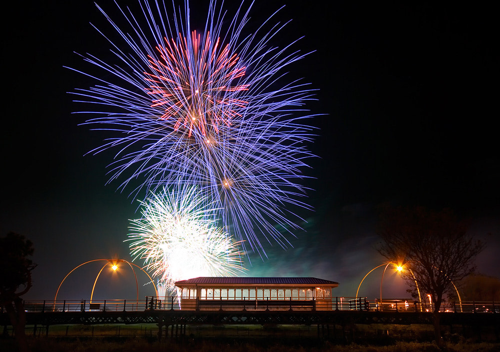 Photograph Pier & Pyros by Paul Sutton on 500px