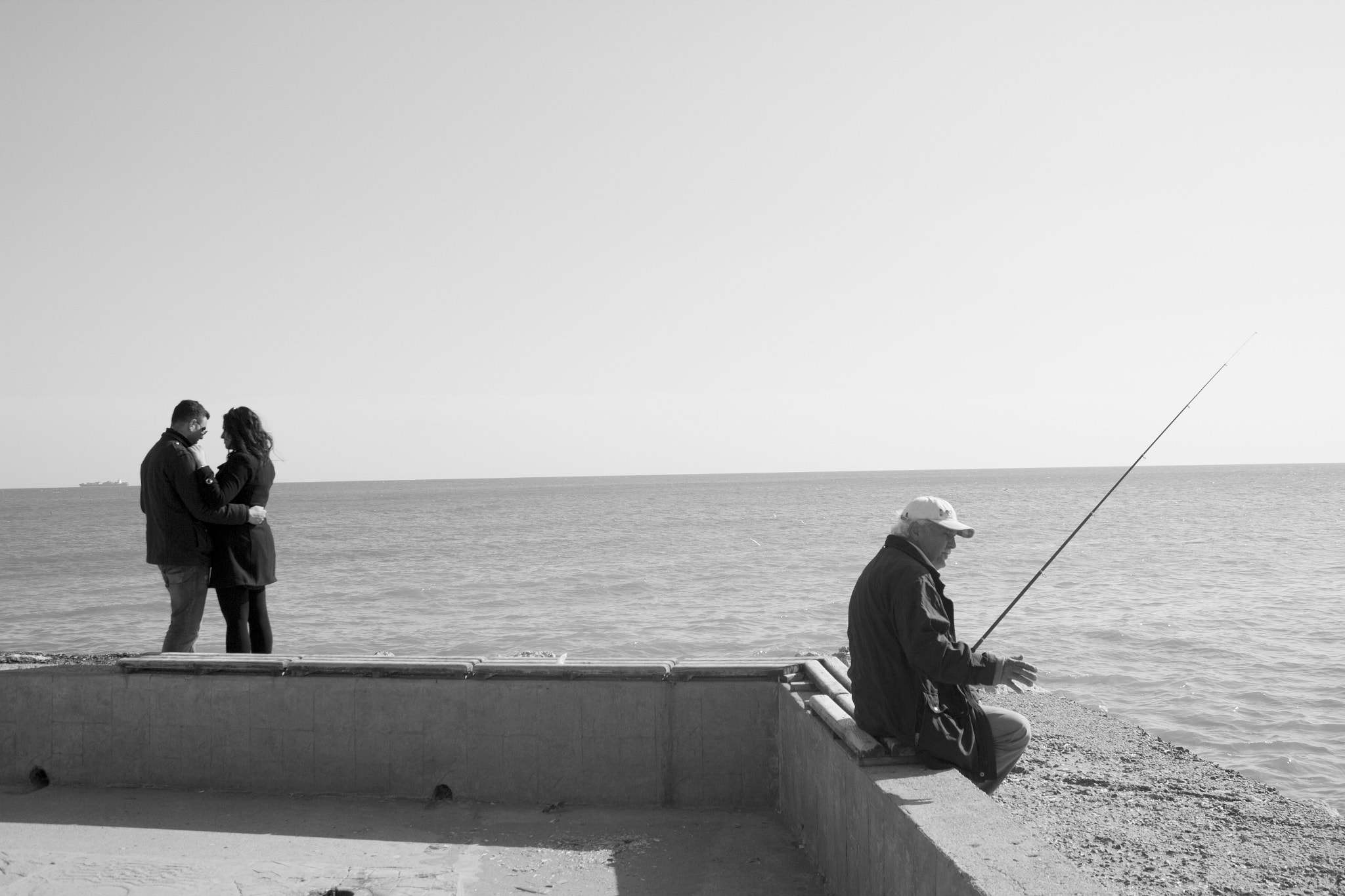 Photograph once upon a time a young fisherman.but now the only pleasure fishing by yalçın polat on 500px