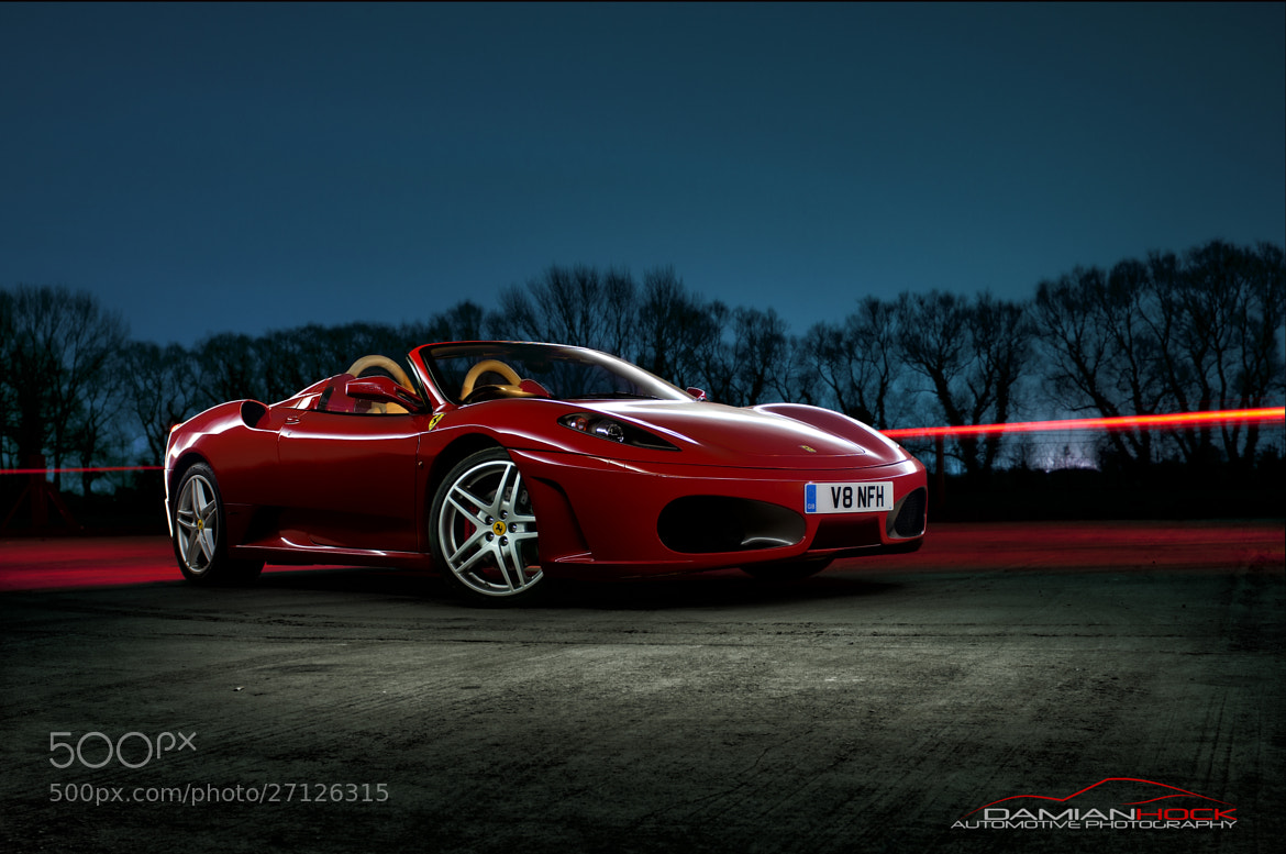 Photograph Ferrari F430 Spider by Damian Hock on 500px