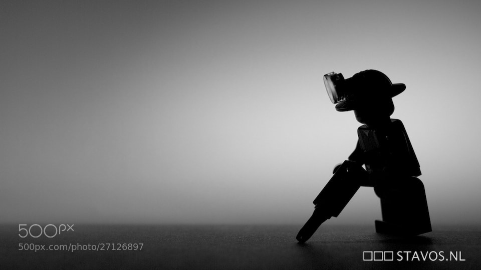 Photograph Construction worker by stavos on 500px