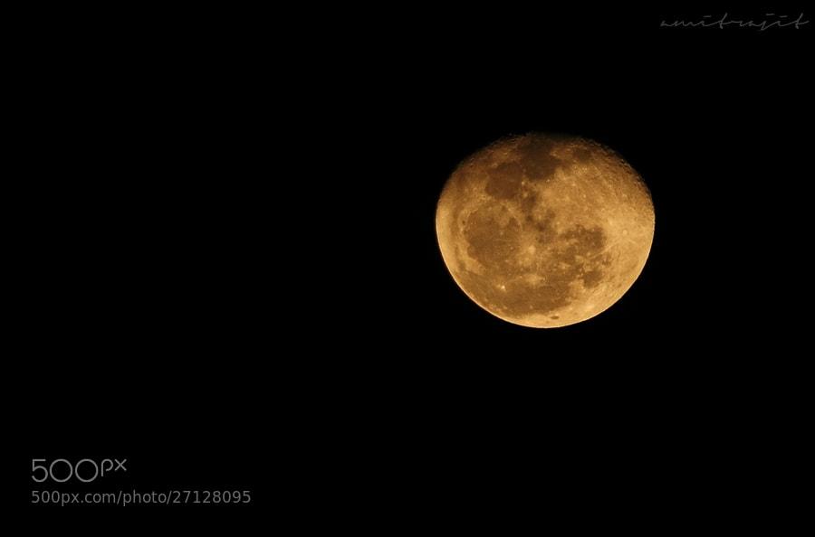 Photograph The Moon by Amitrajit Niyogi on 500px