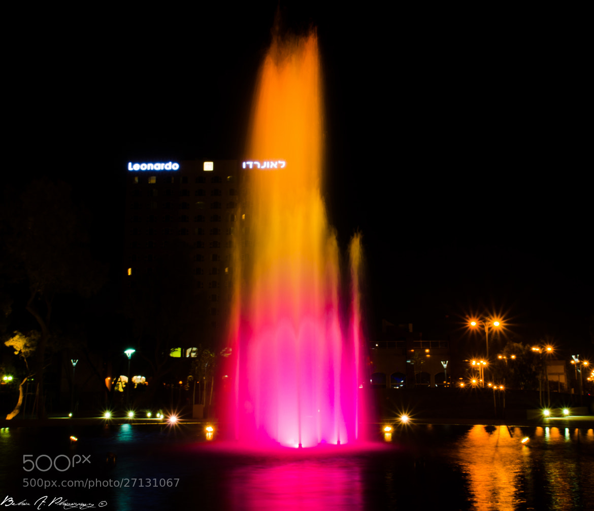 Photograph Colorful Fountain III by Behor Abramov on 500px