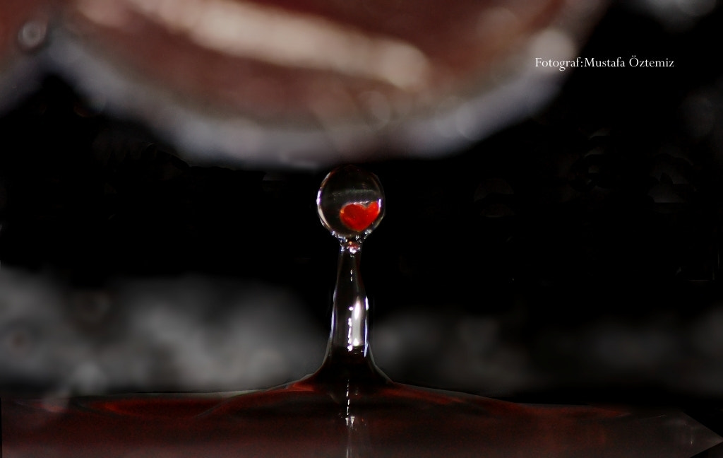 Photograph Drop & Love by Mustafa Öztemiz on 500px