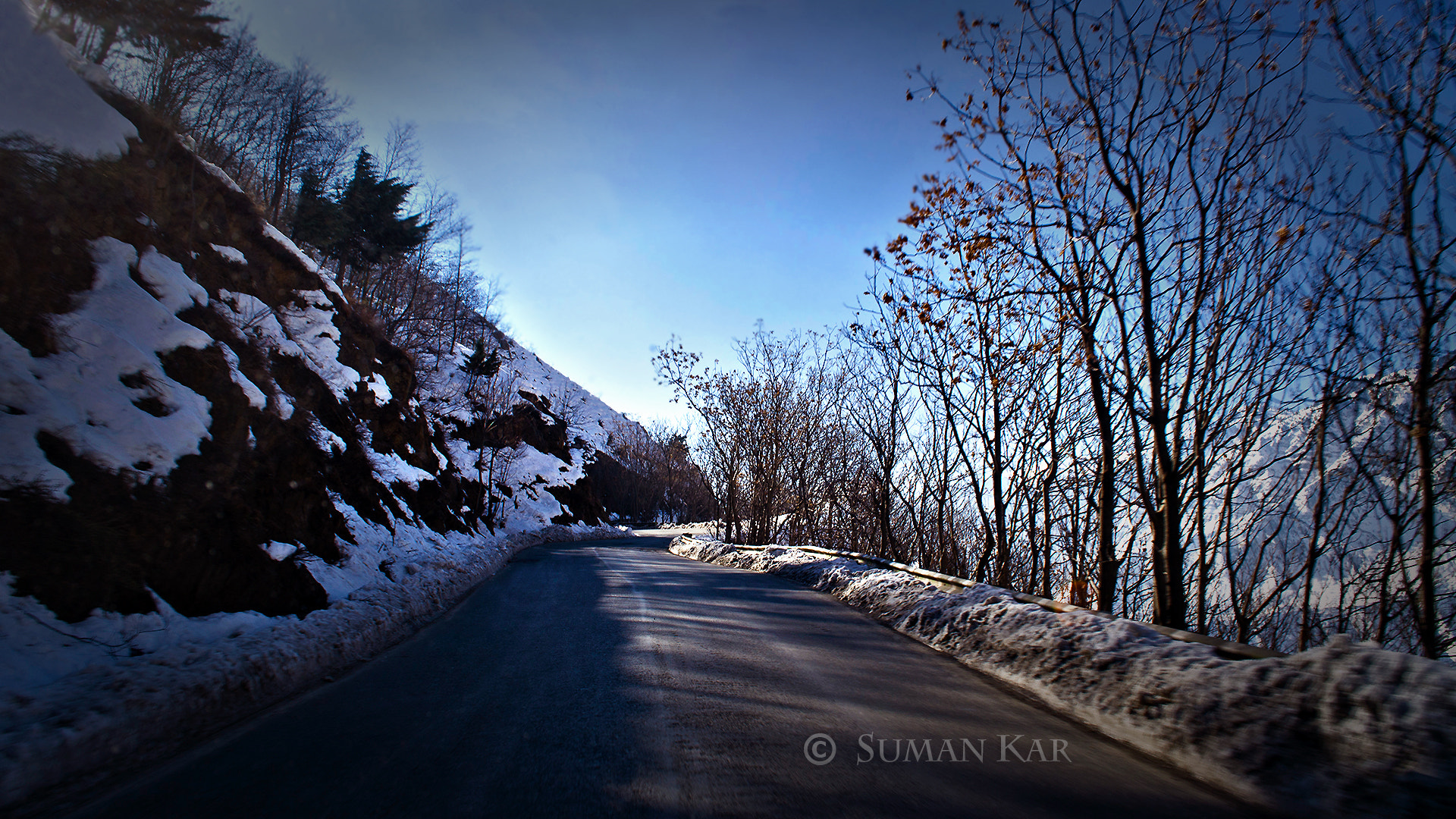 Photograph Long drive route 4 by Suman Kar on 500px