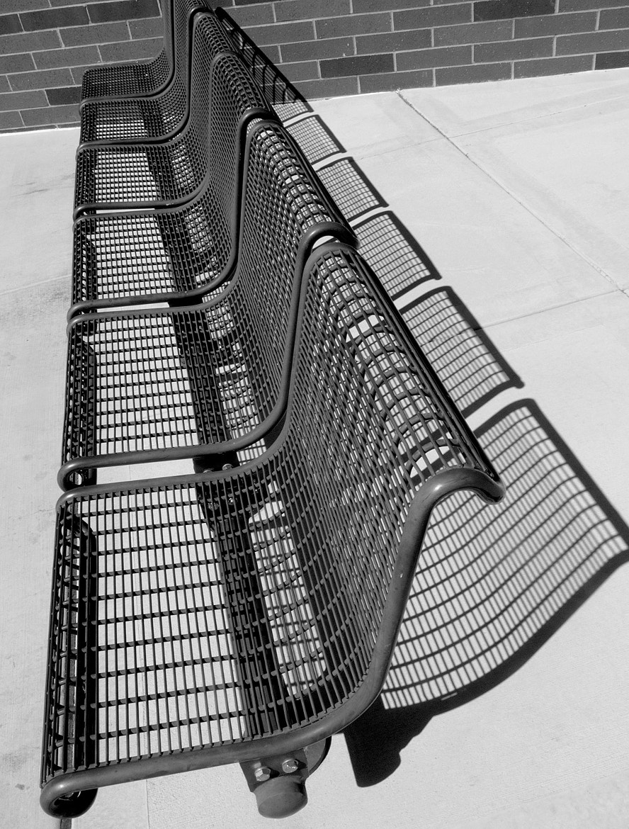 Photograph Bench and Shadow by Milena Robinson on 500px