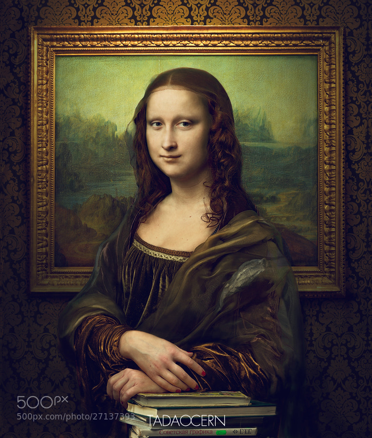 Photograph Revealing The Truth - Mona Lisa by Tadao Cern on 500px
