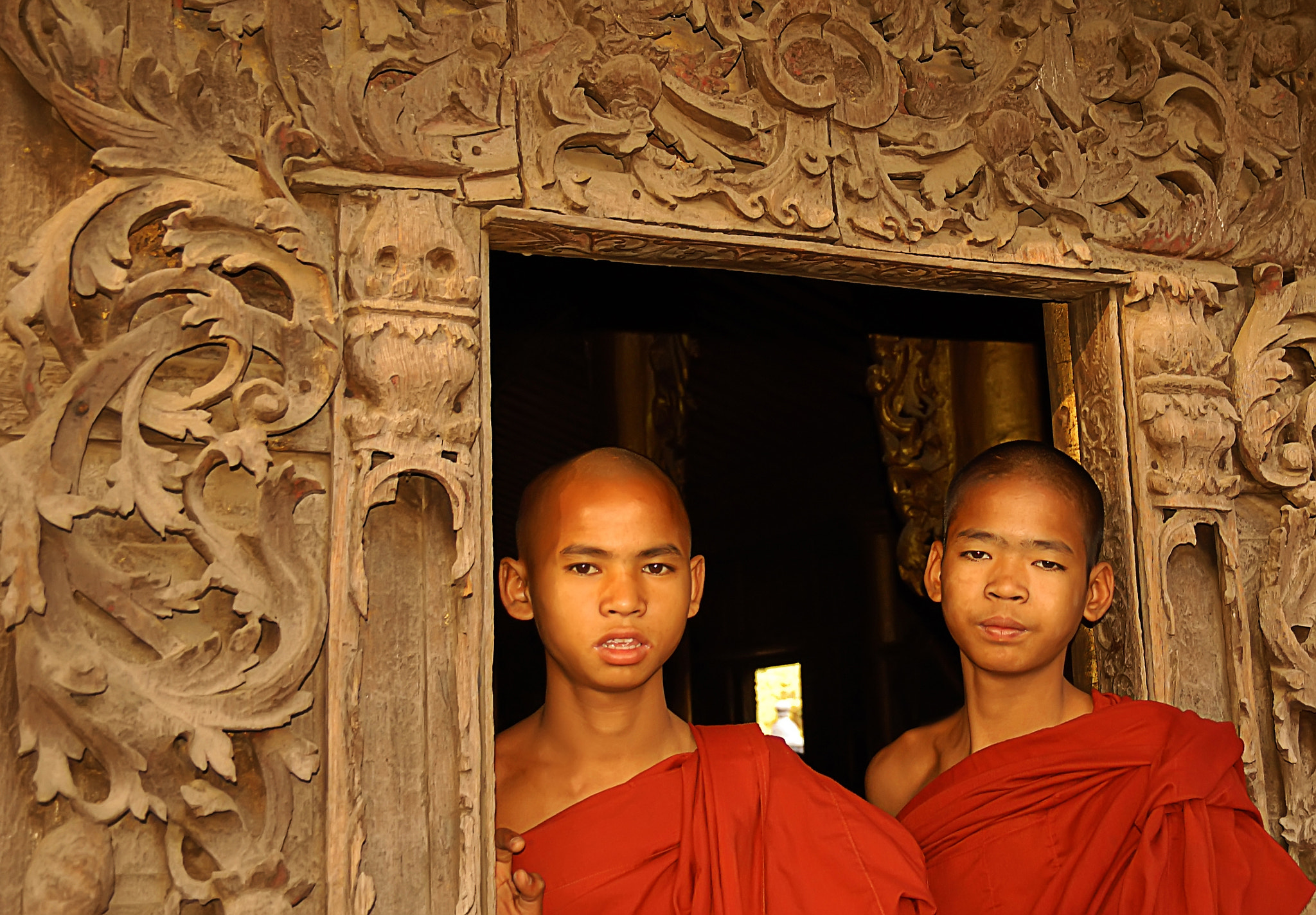 Photograph Young Monks by Csilla Zelko on 500px