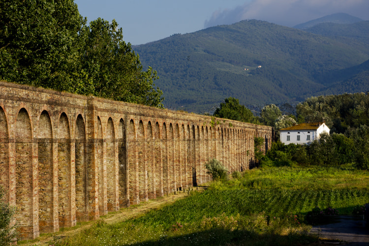 Photograph Aqueducts and Farmhouse in Lucca Italy by Andew Osterberg on 500px