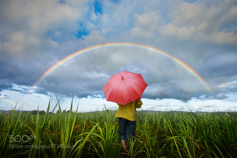 Photograph rainbow by Khatawut J on 500px