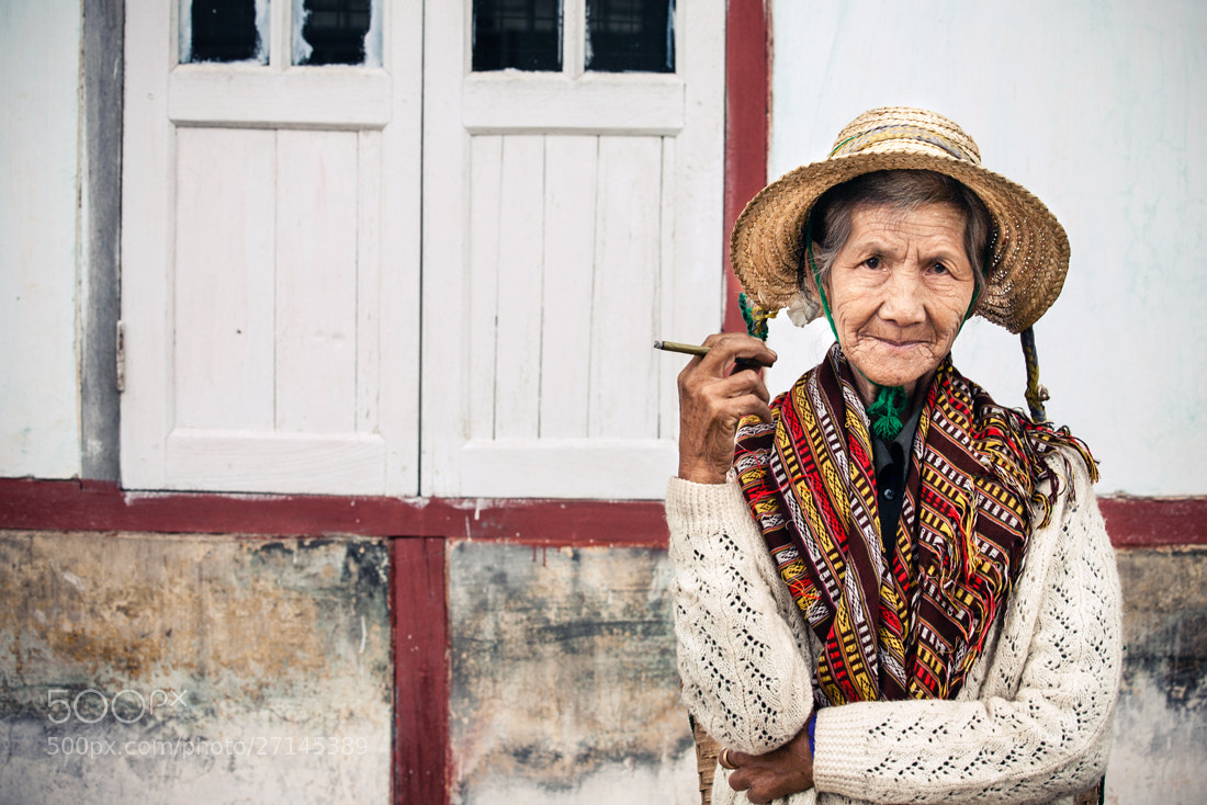Photograph Smoking grandma by Philippe CAP on 500px